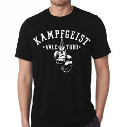KAMPFGEIST T-Shirt Vale Tudo schwarz