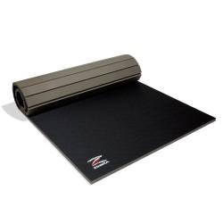ZEBRA Athletics Tatamimatte zum ausrollen schwarz