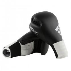 Abverkauf Adidas Hybrid 100 Boxhandschuhe Schwarz Weiss