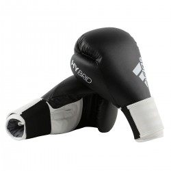 Adidas Hybrid 100 Boxhandschuhe Schwarz Weiss