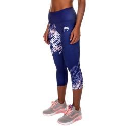 Venum Neo Camo Crops Leggings Women Navy Blue Coral