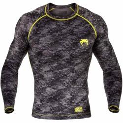 Venum Tramo Rashguard LS Black Yellow