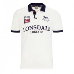 Lonsdale Gatley Herren Slim Fit Poloshirt