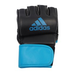 Adidas MMA Training Grappling Gloves Schwarz Blau