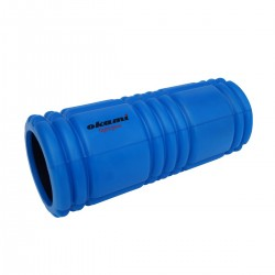 Okami Deep Tissue Foam Roller 2.0 Blue Black