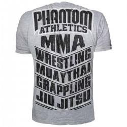 Phantom MMA Sports T-Shirt Grey