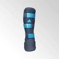 Abverkauf Adidas Textile Shin Instep Guard Black Blue