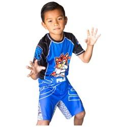 Fuji Inverted Board Shorts Blue Kids