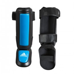 Abverkauf Adidas Pro Style Shin N Step Guard Black Blue