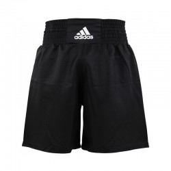 Abverkauf Adidas Multiboxing Short Schwarz Weiss
