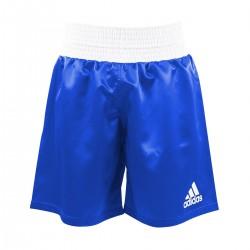 Abverkauf Adidas Multiboxing Short AIBA Blau Weiss