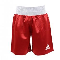 Abverkauf Adidas Multiboxing Short Rot Weiss
