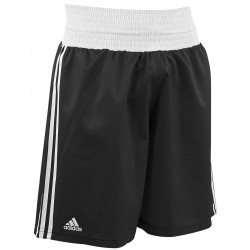 Adidas Boxing Shorts Punch Line Schwarz Weiss