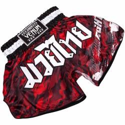 Venum Tecmo Muay Thai Short Red White
