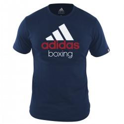Adidas Community T-Shirt Boxing Vivid Blau