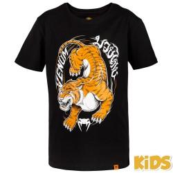 Venum Tiger King Kids T-Shirt Black