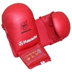 Hayashi Karate Faustschützer Tsuki WKF Approved Rot