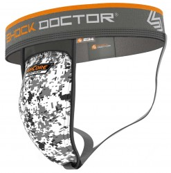 Shock Doctor Supporter with AirCore Soft Cup White