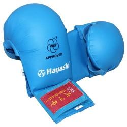 Hayashi Karate Faustschützer Tsuki WKF Approved Blau