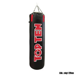 Top Ten Boxsack Schwarz Rot 150cm Gefüllt