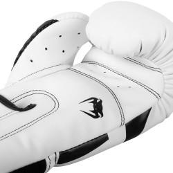 Venum Elite Boxing Gloves White Black