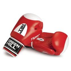 Green Hill TIGER Boxhandschuhe rot Mit Trefferfläche