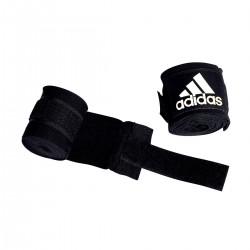 10x Adidas Boxbandage Boxing Crepe 2.5m Schwarz