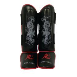 Bruce Lee Dragon Deluxe Schienbeinschoner Leder