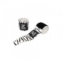 Zebra Boxbandage 255cm black white