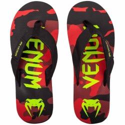 Abverkauf Venum Atmo Sandals Flip Flops Red Camo