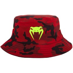 Venum Atmo Bucket Hat Reversible Red Camo