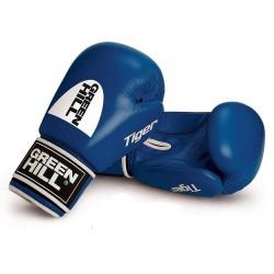 Green Hill TIGER Boxhandschuhe blau Ohne Trefferfläche