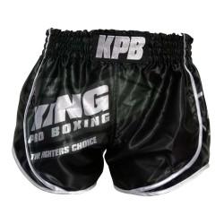 King Pro Boxing Star Vintage Hybrid Fightshort Kaki