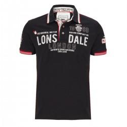 Lonsdale Sellindge Herren Slim Fit Poloshirt