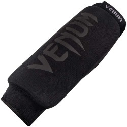 Venum Kontact Shinguards Without Foot Black Black