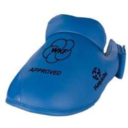Hayashi Karate Fussschutz WKF Approved Blau