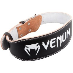 Venum Hyperlift Leather Lifting Belt Black