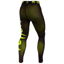 Venum Giant Spats Black Neo Yellow