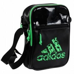 Adidas Umhänge Tasche Schwarz Solar Grün ADIACC02