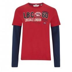 Lonsdale Teston Herren T-Shirt LS