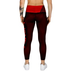 Venum Power Leggings Women Black Red