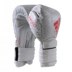 Adidas Hybrid 300 Pro Boxhandschuhe 14oz White Ltd Edition