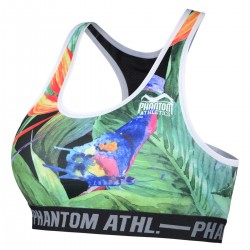 Phantom Jungle Sports Bra Women Green