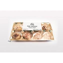 Abverkauf Hulk and Harmony Protein Pralinen Cookies 80g MHD