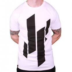 Justyfight Logo T-Shirt Weiss