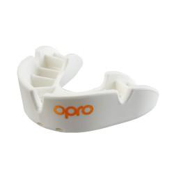 Opro Bronze Zahnschutz weiss