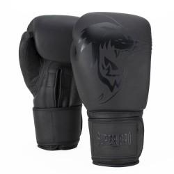 Super Pro Legend Boxhandschuhe Leder Grau