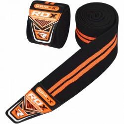 RDX Gym Kniebandage schwarz orange