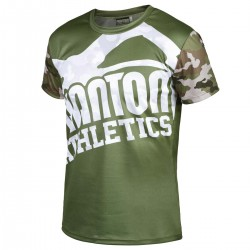 Phantom EVO Warfare T-Shirt Woodland Camo