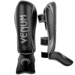 Venum Challenger StandUp Shinguards Black Grey